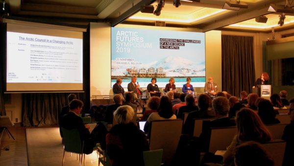 A packed house attends the 10th annual Arctic Futures Symposium - Photo by North Norway European Office