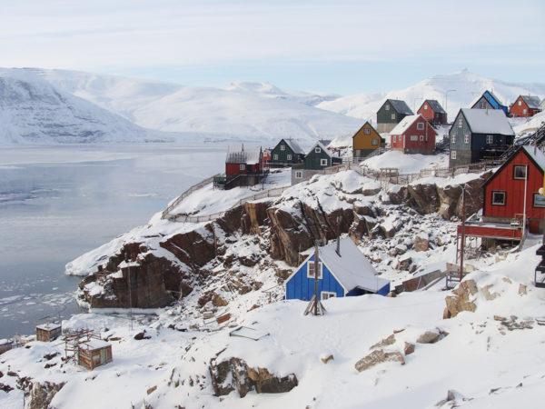 Greenland village - Picture by Myriam Dielemans