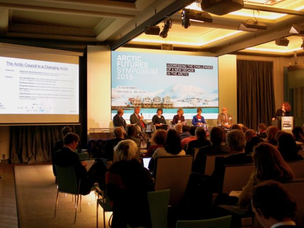 A packed house attends the 10th annual Arctic Futures Symposium - Picture by North Norway European Office