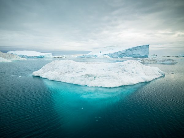 Blue iceberg - Picture by Alexander Hafemann